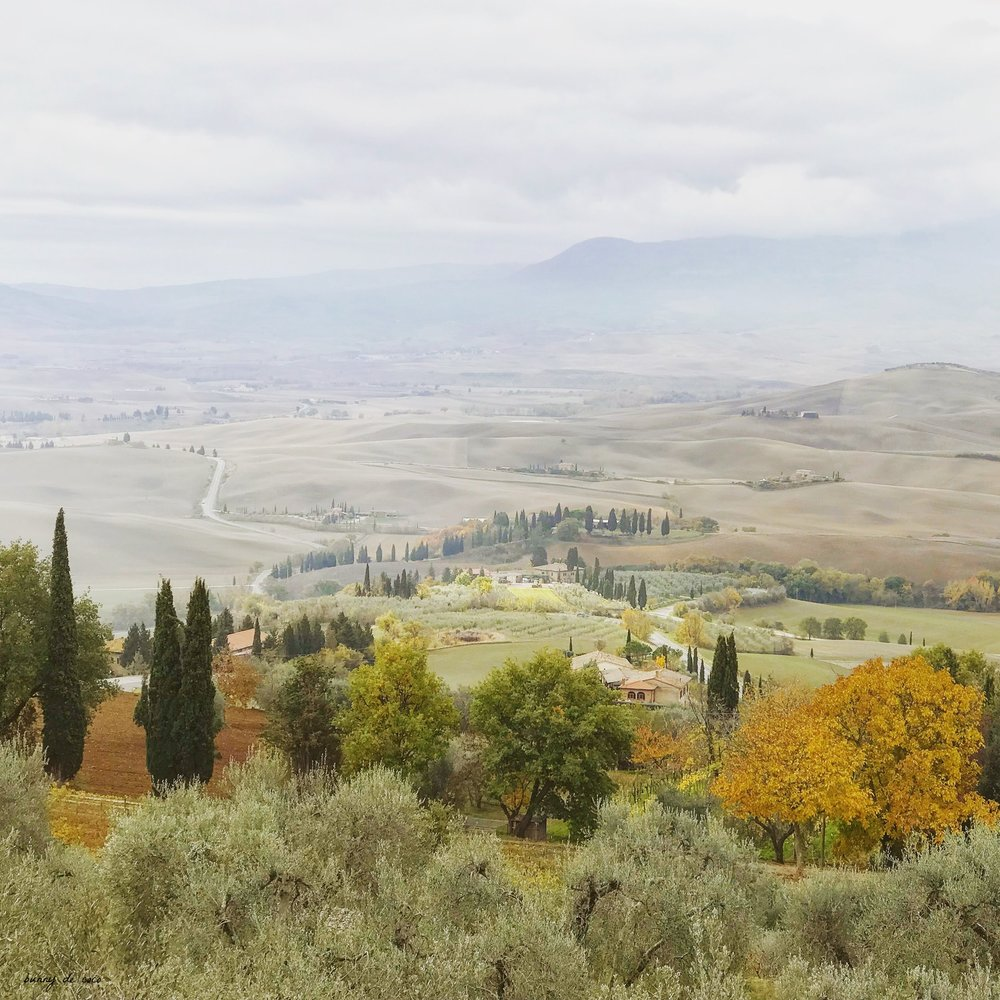 The view from Pienza itself