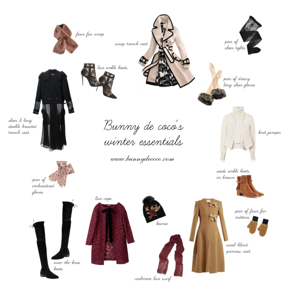 My winter wishlist essentials, created on  Polyvore .