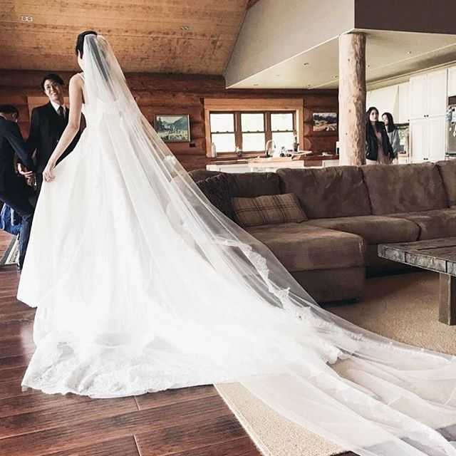 That moment as 👰🏻 captured by @tanismusic