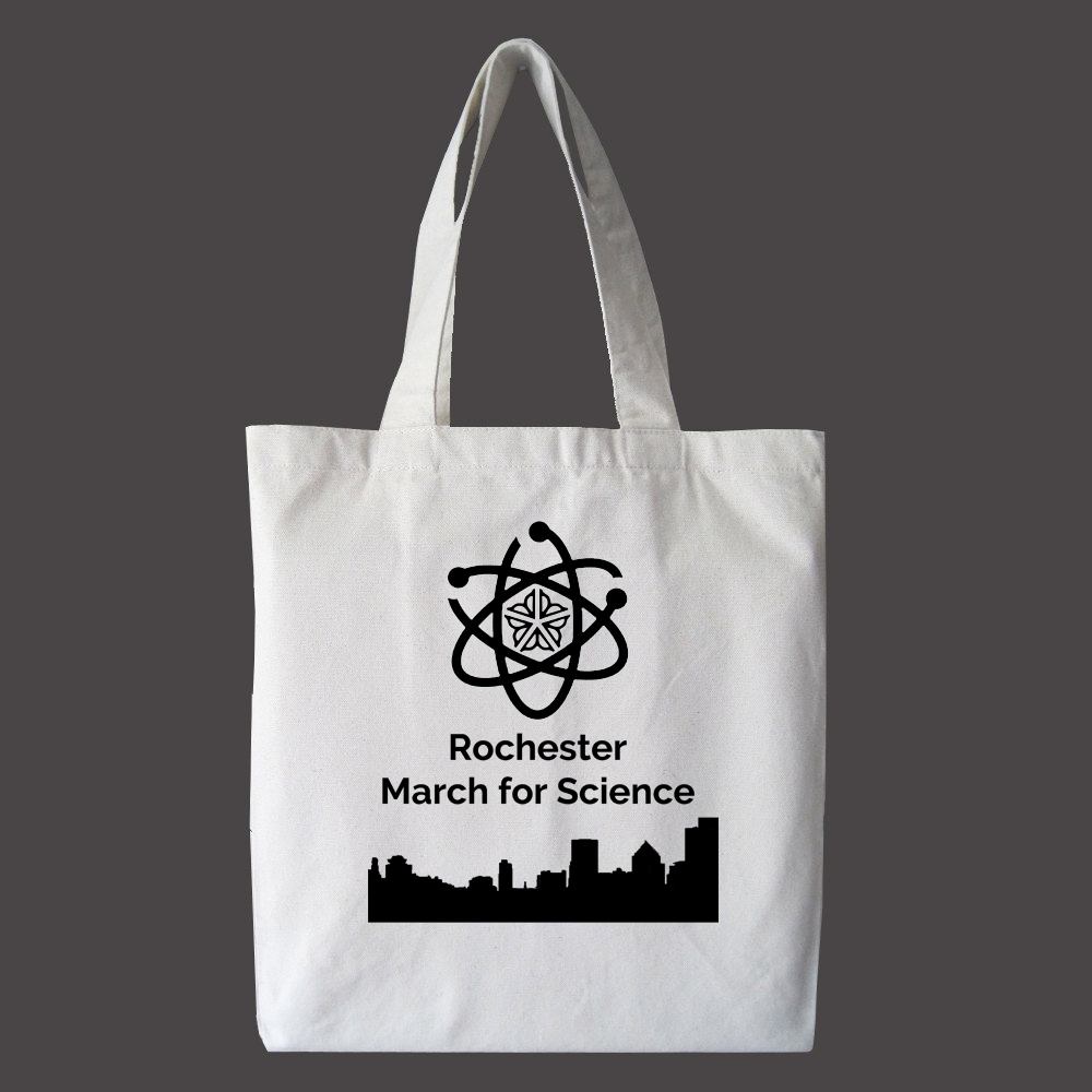 Donate at the $25 level and receive this awesome tote bag.