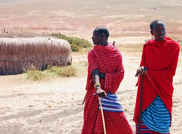 Bravery is not everything, and however brave a man may be, two brave men are better. ~ Maasai Proverb ••••••••••••••••••••••••••••••••••••••• #oboralux #traveladventurewithoboralux #africa #tanzania #brotherhood