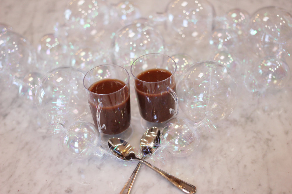 Mexican Chocolate - VARIATIONS:1/2 cup rum, spiced rum, whiskey or vodka2 cups dark beer2 cups water