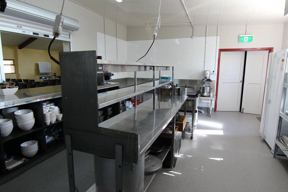 Nukuhau Marae kitchen