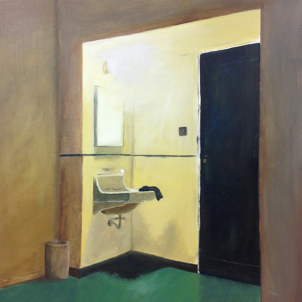 Sink , 2015  Oil on Panel, 24 x 24 inches