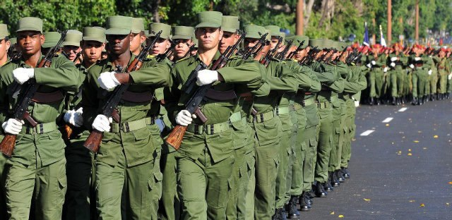 Cuban Army Green