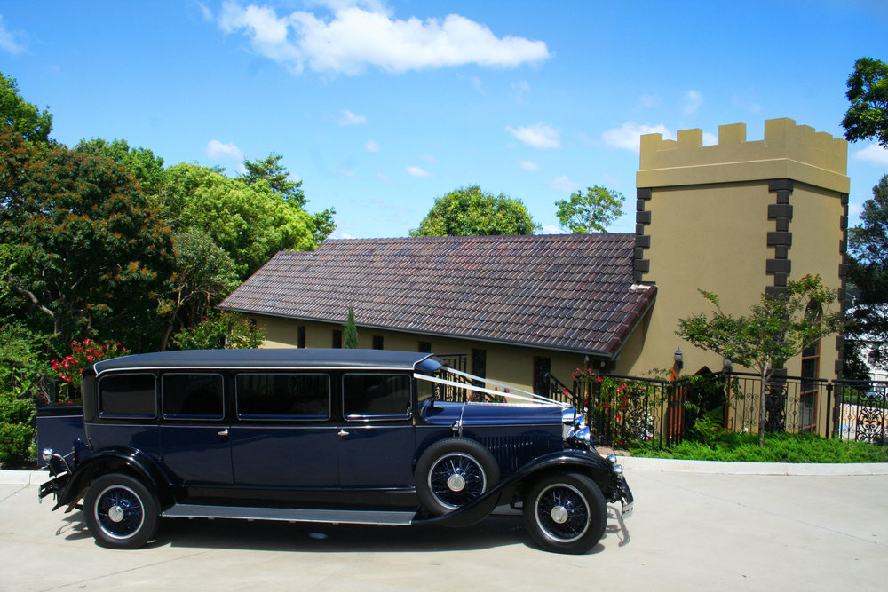 One of our Vintage Limousines