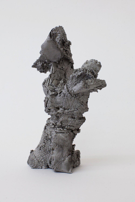 Remnant # 2   cast aluminium  20 x 12 x 9.5 cm  Photograph Alycia Bennett