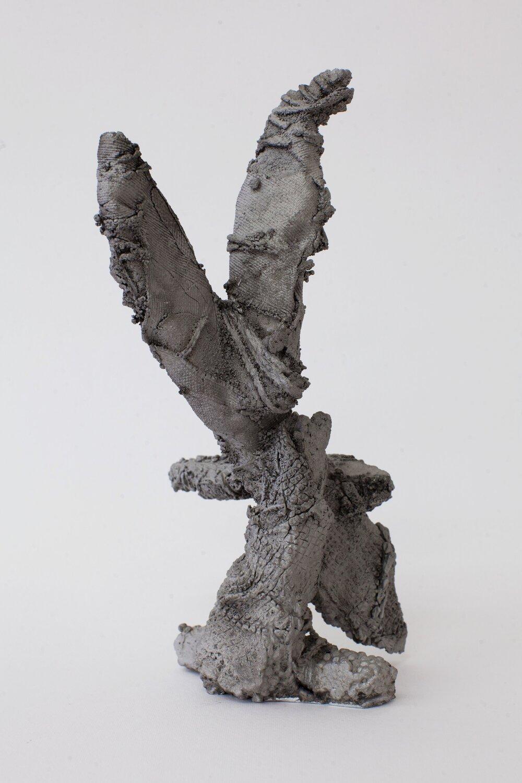 Remnant # 5   cast aluminium  25 x 11 x 14 cm  Photograph Alycia Bennett