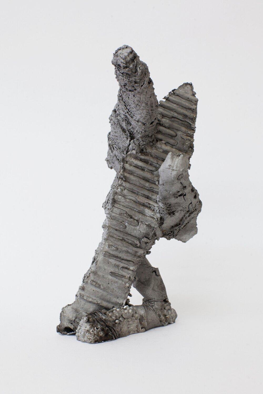 Remnant # 6   cast aluminium  22 x 15.5 x 12.5 cm  Photograph Alycia Bennett