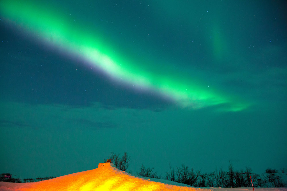 the-northern-lights-at finnish-boarder
