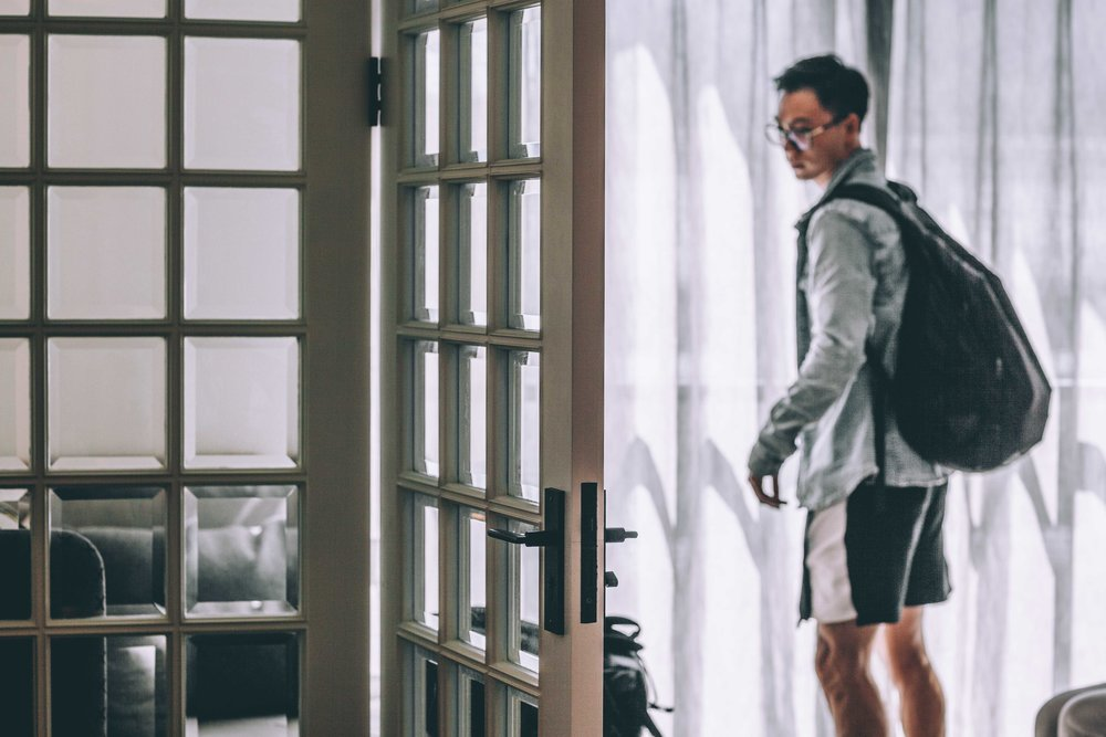 When it's time for you to venture out, don't let fear have you looking back at what you're leaving behind. @thepeihan