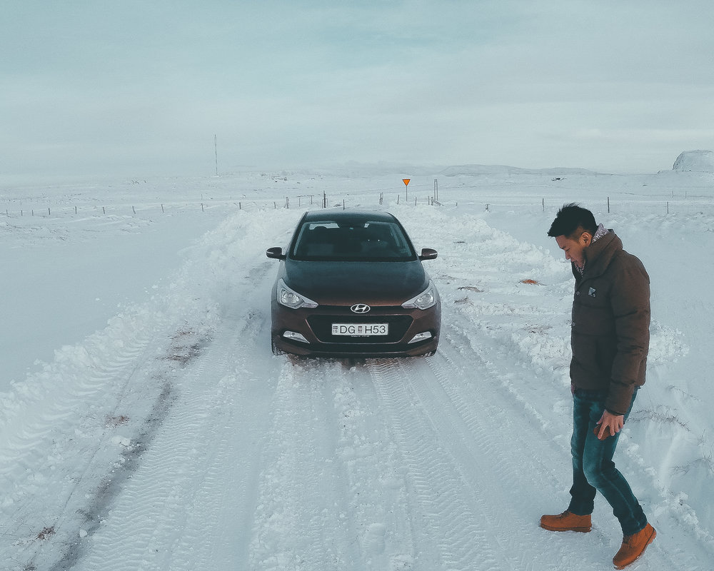 LEARN TO TRUST THE ROAD - REYKJAVIK , ICELLAND