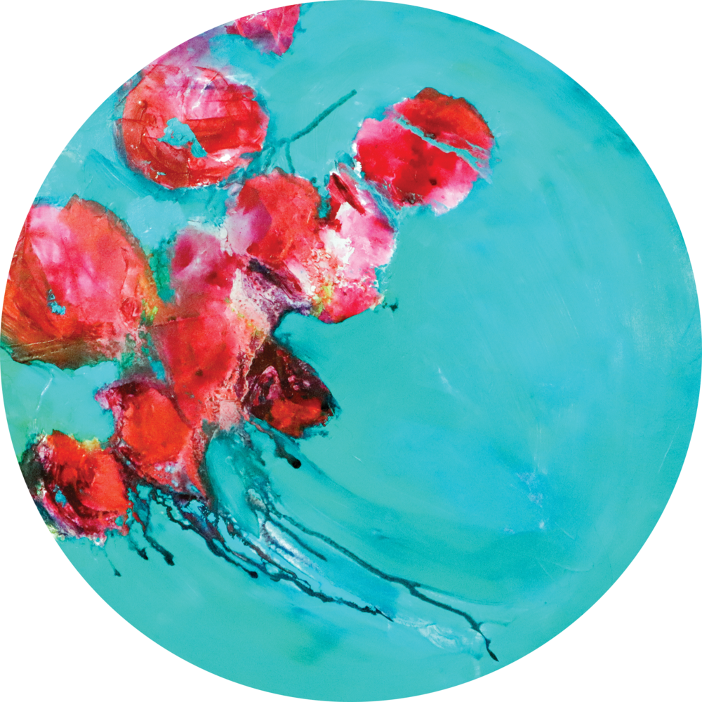 circle - Lory Ivey Alexander.A Pocket Full of Tears.24 inch diameter.Acrylic on Wood 2.png