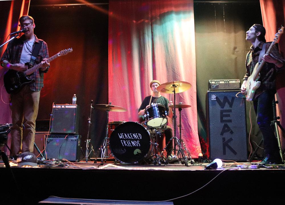 bloodmoon performing at the Ice House. (Shamus McGroggan/TAPE SWAP RADIO)