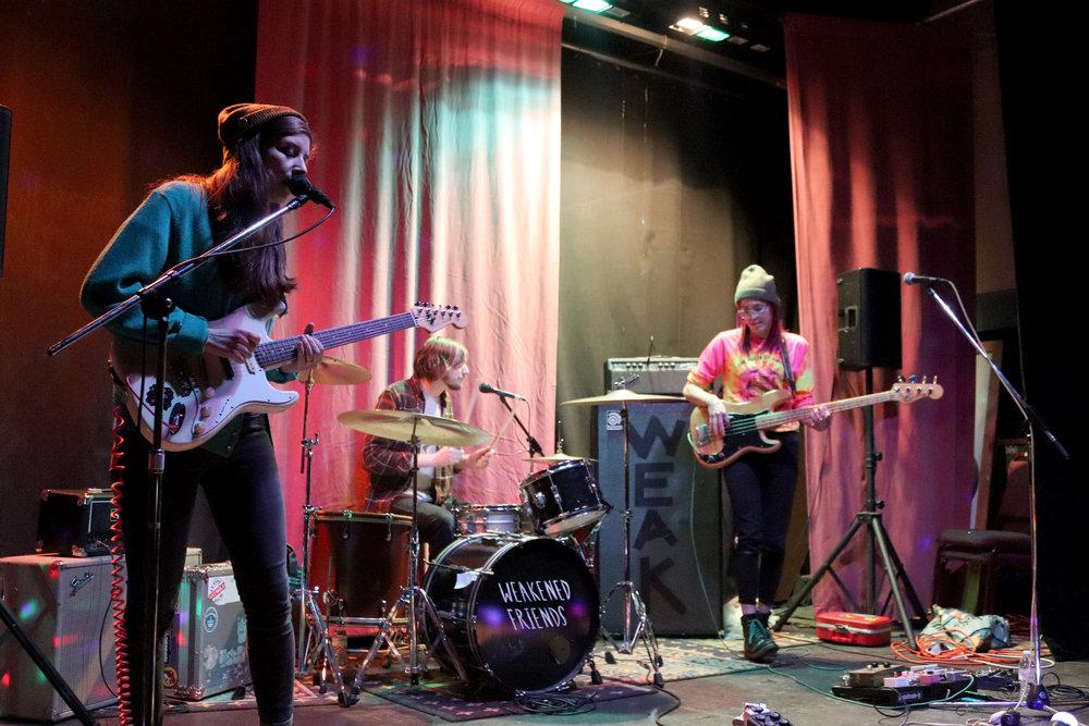 Weakened Friends performing at the Ice House. (Shamus McGroggan/TAPE SWAP RADIO)