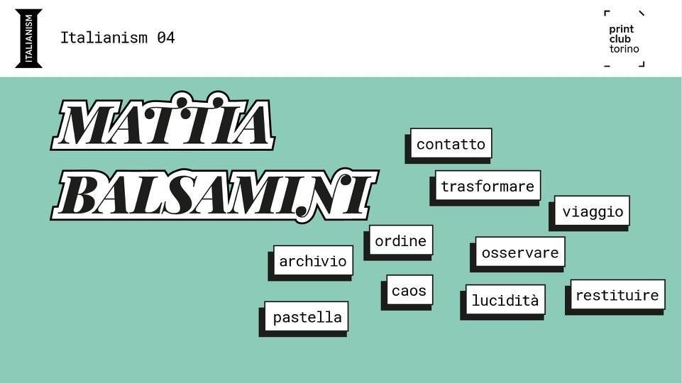 La mia parola è CAOS - Scelta da Mattia Balsamini