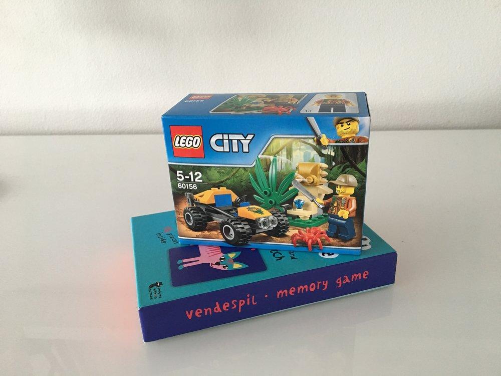 Legon pikkurasiat ovat taaperoa ilostuttava yllätys ja muistipeli voidaan taas kaivaa esille uutena leluna.