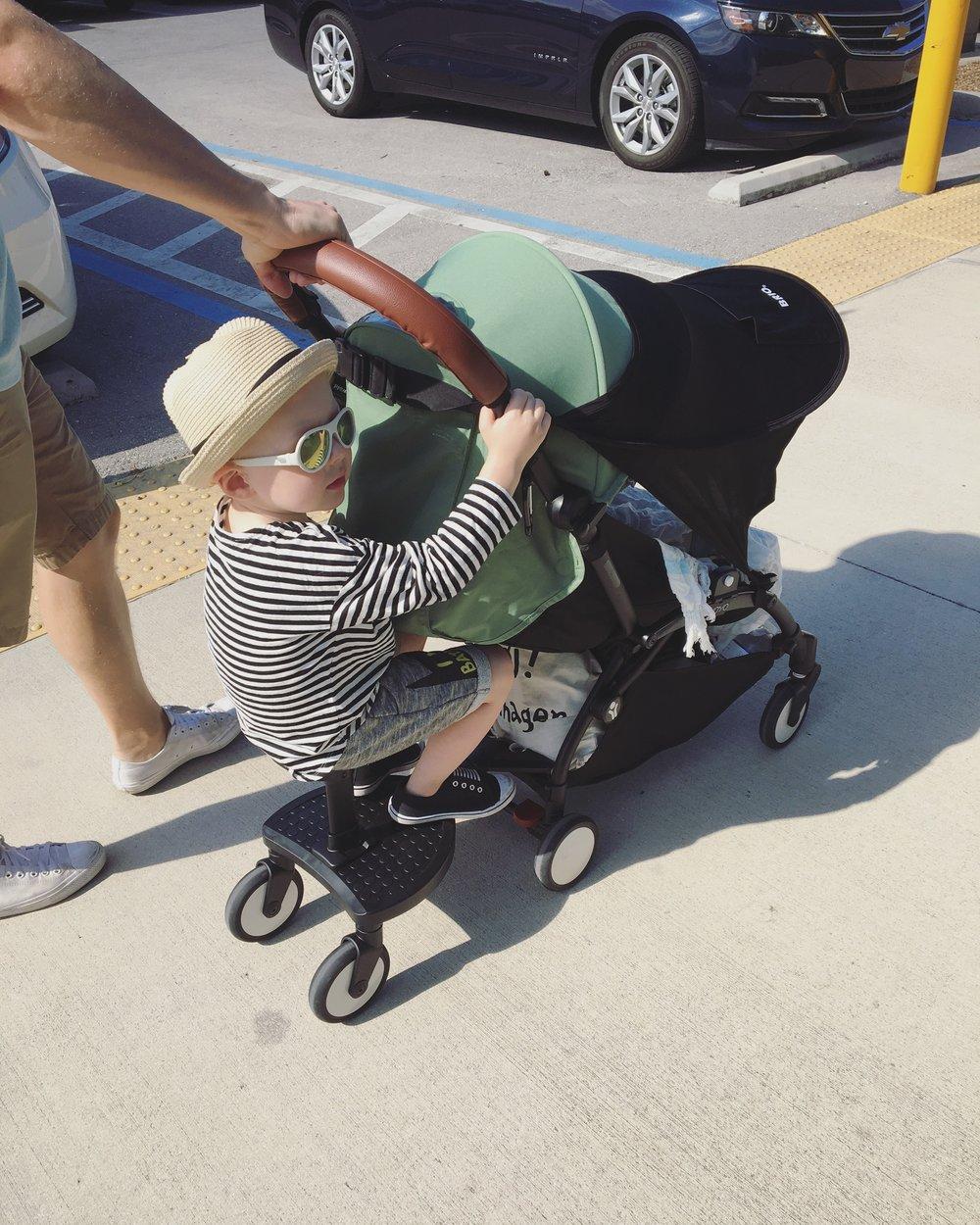 Kokemuksia Babyzen Yoyo seisomalaudasta