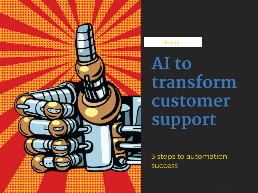 You need to lay the right foundations to build smart customer support automation