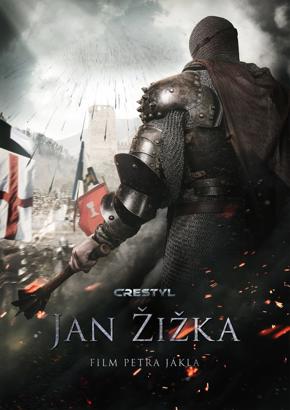 Jan Zizka Medieval Poster