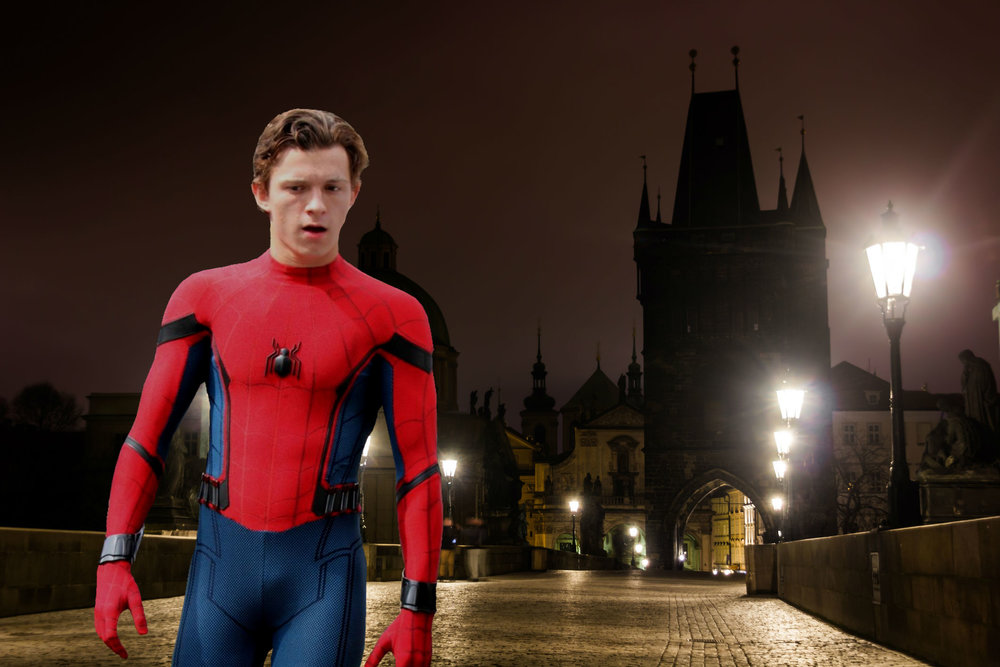 Spider Man Far From Home Shoots On Prague S Charles Bridge The