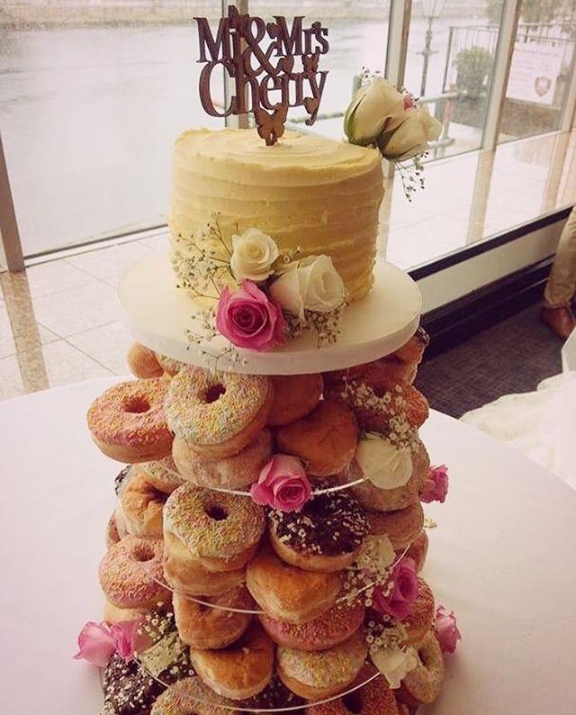 Doughnut Wedding Cake Bedfordshire