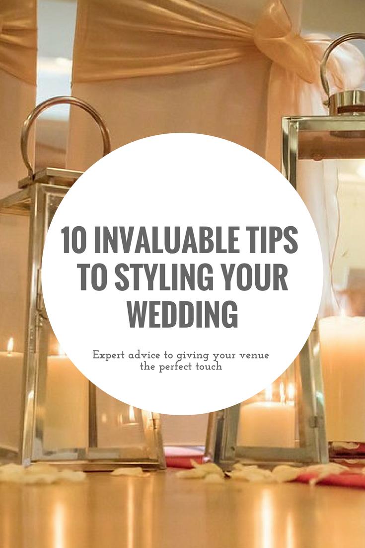 Wedding Styling tips Pinterest Hartfordshire
