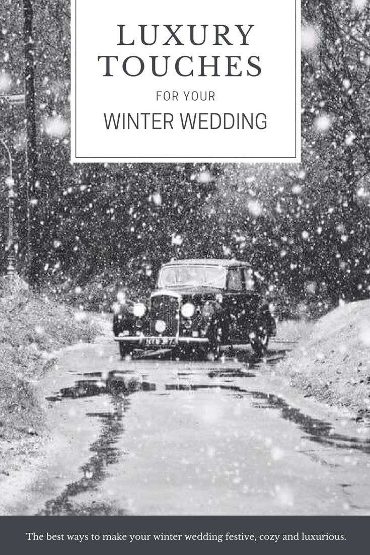 Winter wedding luxury hertfordshire