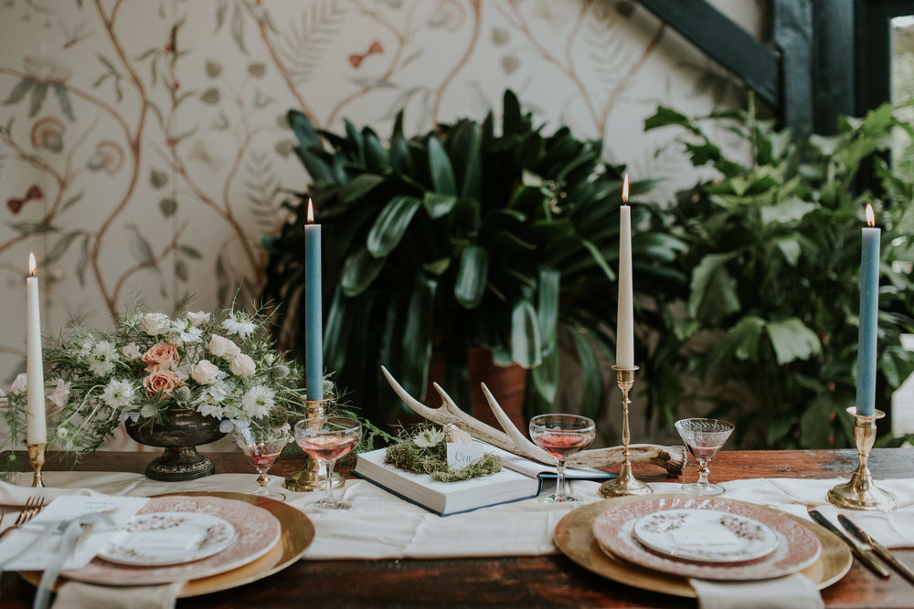 Photo Credit:  Lola Rose Photography  Styling:  The White Emporium   Flowers:  Twiggy Thistle  Stationery:  Sugar and spice designs