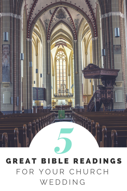 5 great bible readings for your church wedding engage weddings
