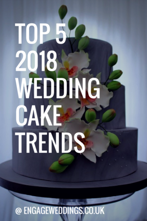 Wedding Cake Trends Bedfordshire 2018