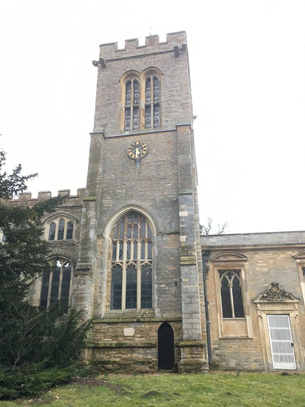 Saint Lawrence Church, Chicheley Hall, Buckimghamshire