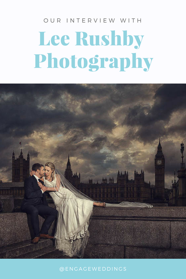 Interview with Hertfordshire based wedding photographer Lee Rushby