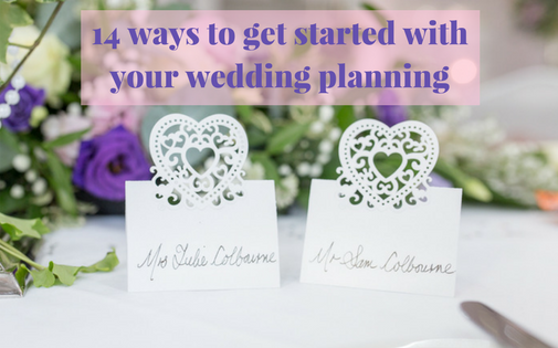 14 ways to get started with your wedding planning hertfordshire bedfordshire cambridgeshire buckinghamshire wedding