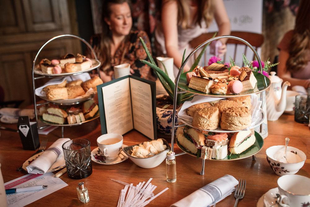 afternoon tea hen party the farmhouse at redcoats hertfordshire