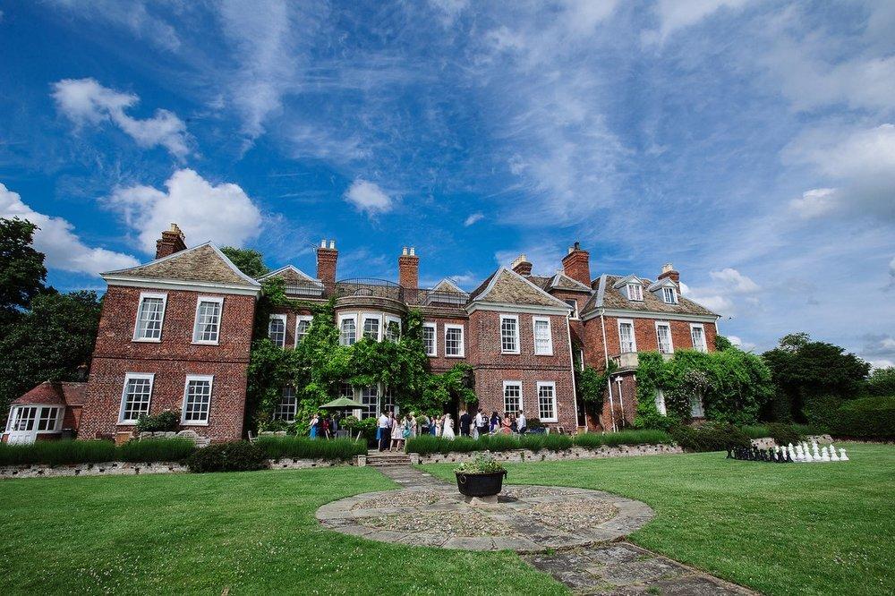 Anstey Hall Cambridgeshire wedding venue