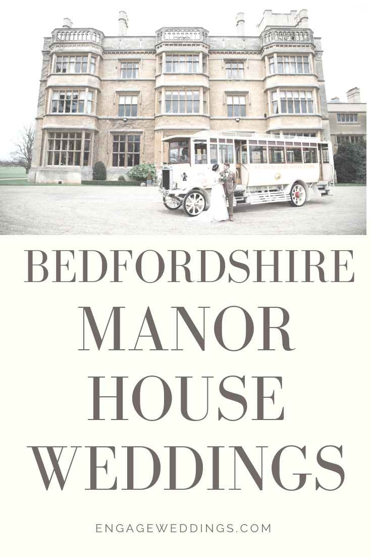 Bedfordshire manor house weddings