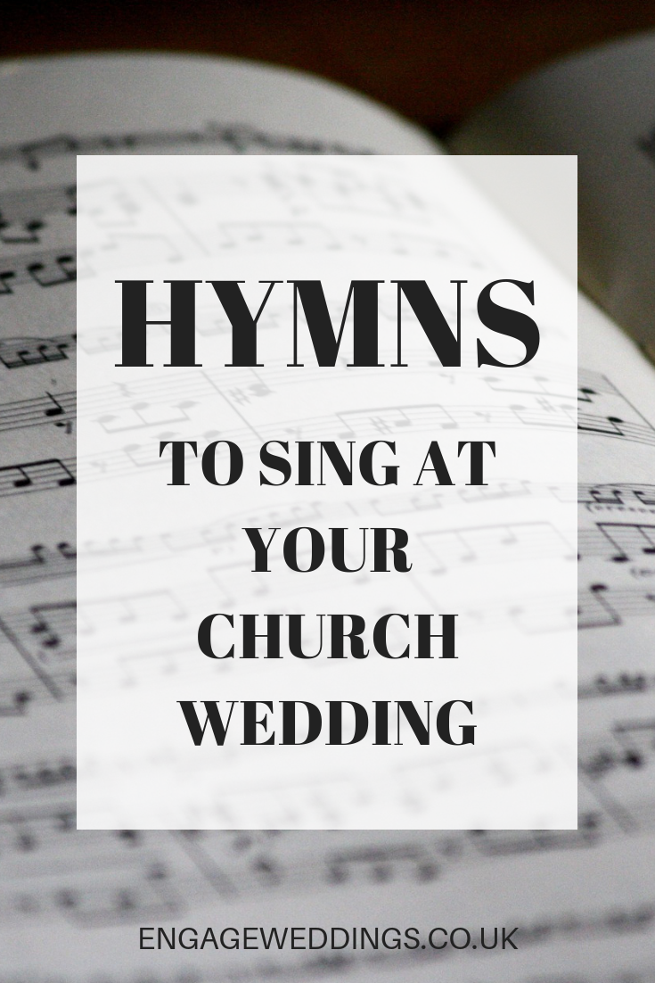 Hymns to sing at your church wedding Cambridgeshire