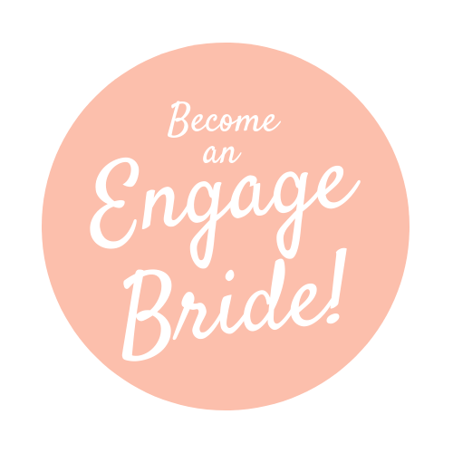 Engage Bride Button