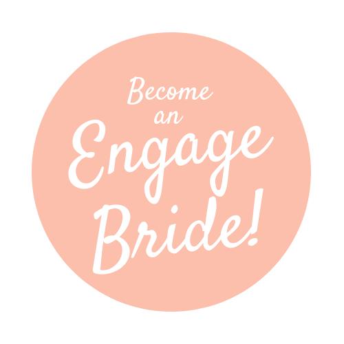 Engage Bride Button