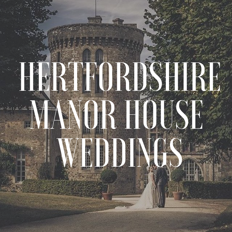 Hertfordshire wedding manor house