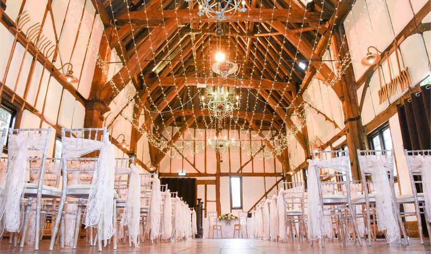 Barns Hotel Hitchin Weddings