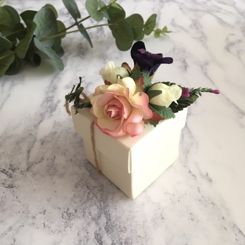 Bomboniere by Maria hertfordshire wedding favours