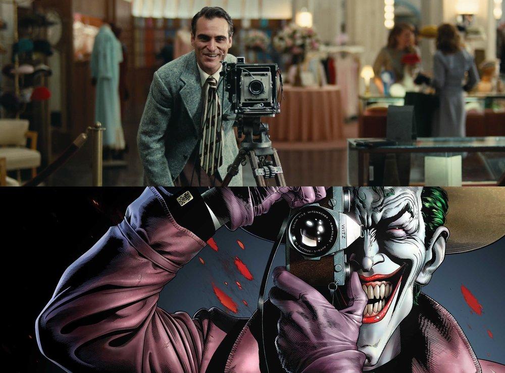 圖片來源: (上) The Film Stage 、(下) DC Comics