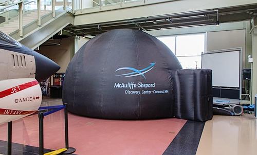 McAuliffe-Shepard Travelling Planetarium, Concord, NH