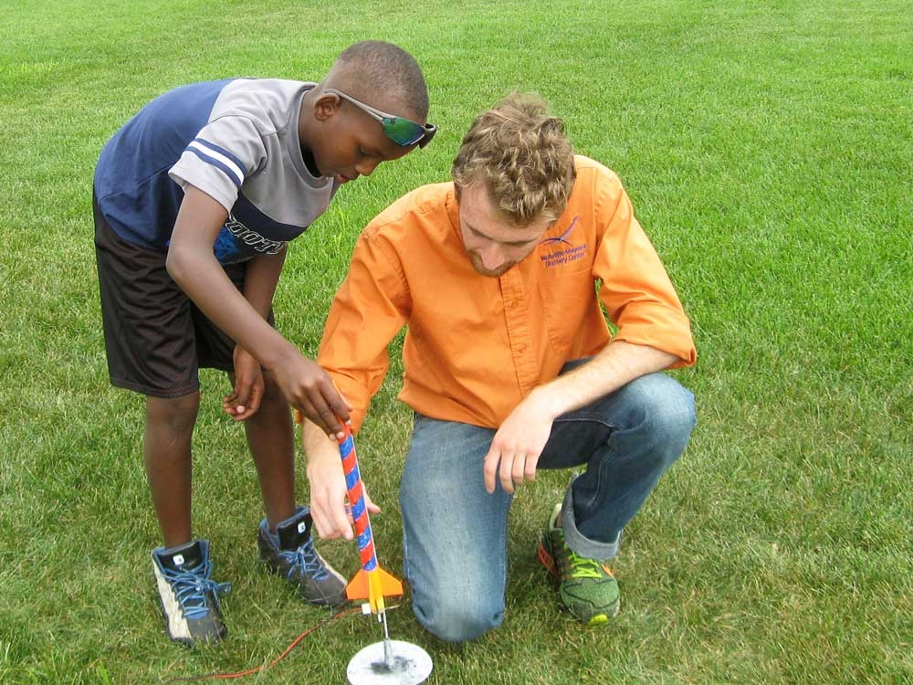 McAuliffe Shepard Discovery Center Paper  Rocket Workshops