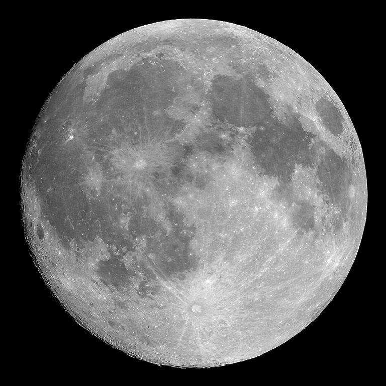 earth's moon. image courtesy nasa