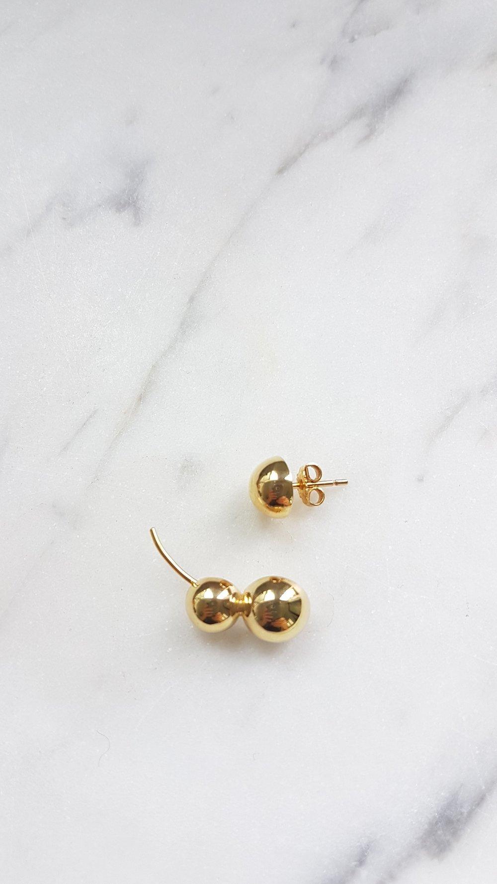 Earrings 18k yellow gold