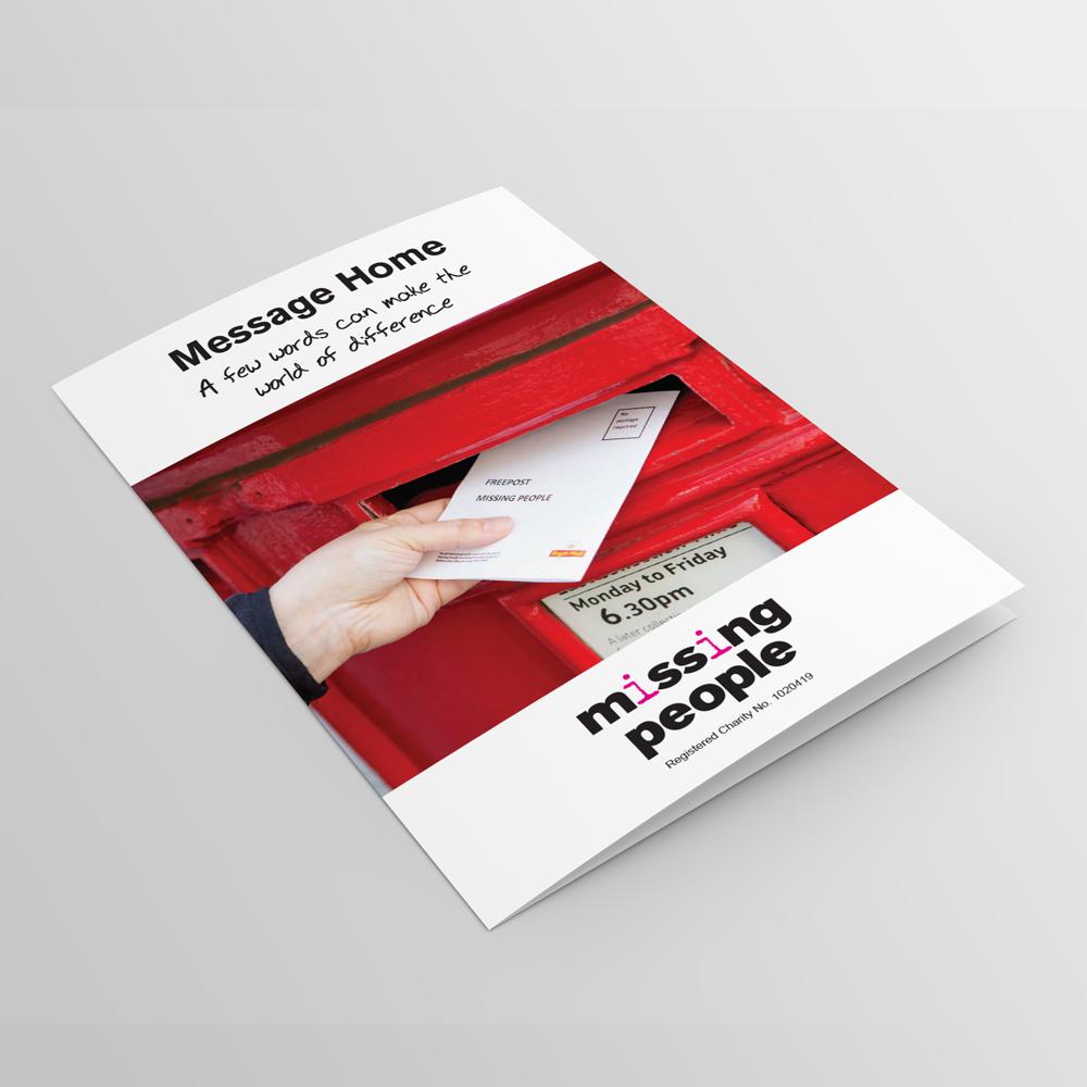 Missing People - Leaflet Design