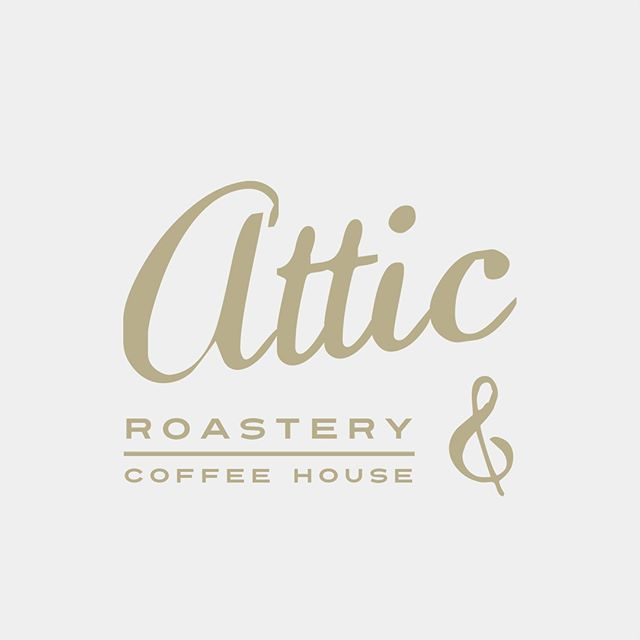 ATTIC . . . #freelance #graphicdesign #london #art #freelancedesigner #artoftheday #creative #graphic #illustration #draw #picture #handdrawn #type #handlettering #coffee #logo #logodesign
